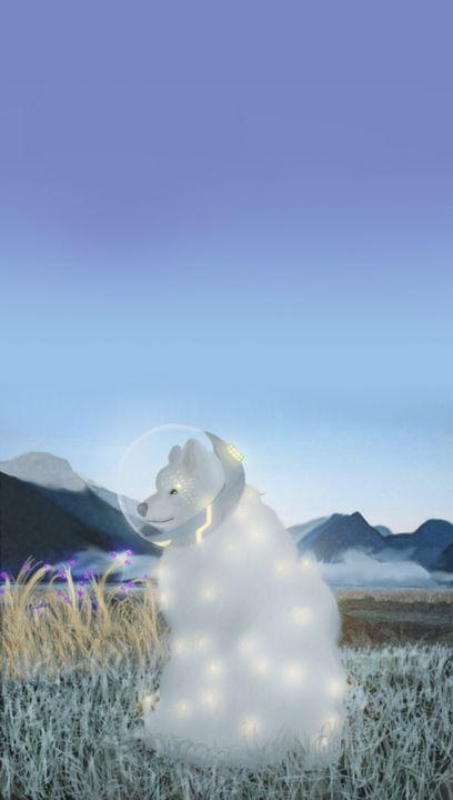 White Space dog - Shinrai