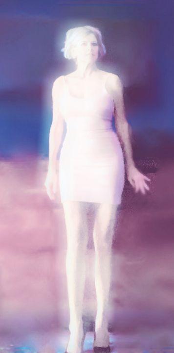 My Marilyn ghost series , 2020 - RED