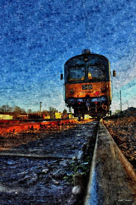 The Latest Train - John Tiberius aka Johny Rebel