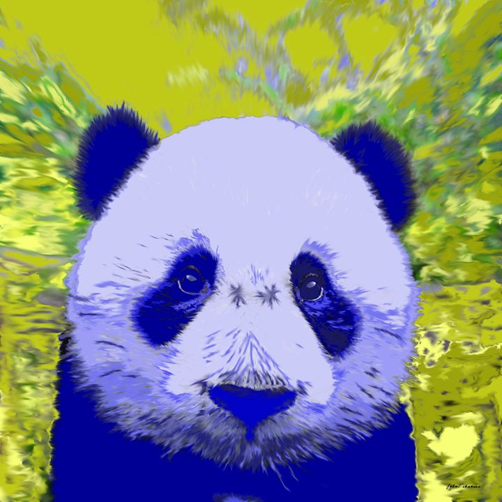 Blue Panda - John Tiberius aka Johny Rebel