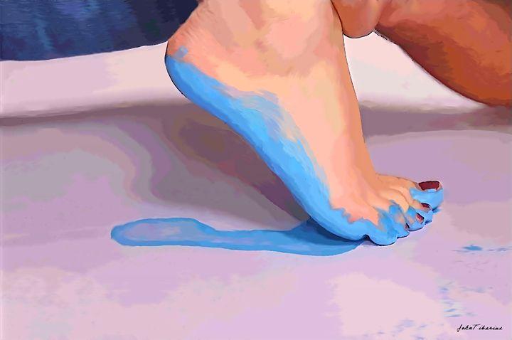 Blue sole - John Tiberius aka Johny Rebel