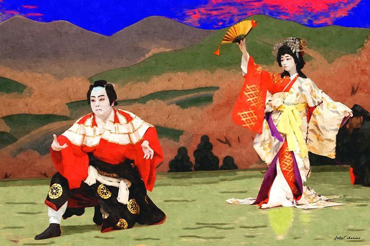 Japan theater - John Tiberius aka Johny Rebel