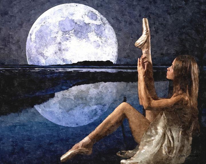 Ballerina in moonshine - John Tiberius aka Johny Rebel