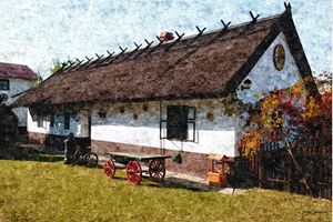 Hungarian farmhouse