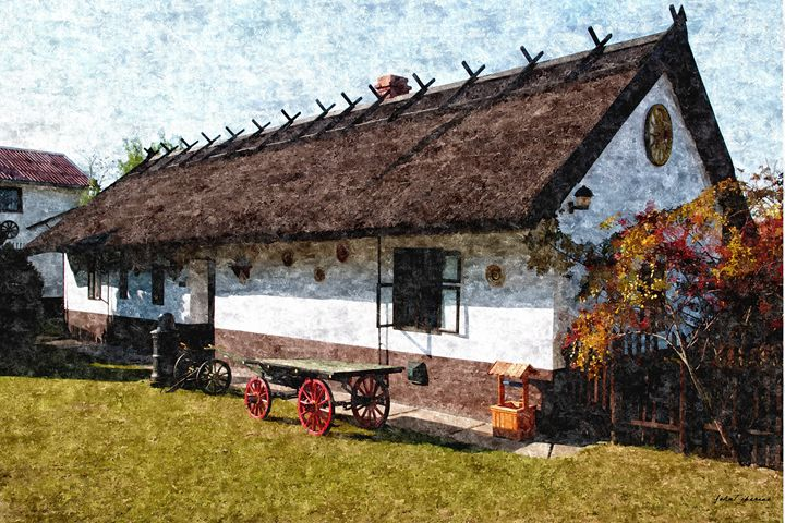 Hungarian farmhouse - John Tiberius aka Johny Rebel
