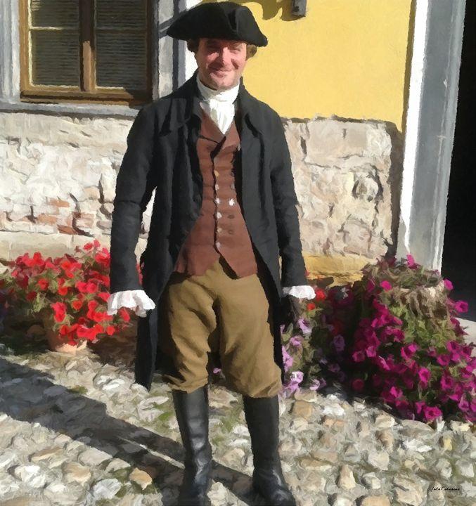 Impoverished italian noble - John Tiberius aka Johny Rebel