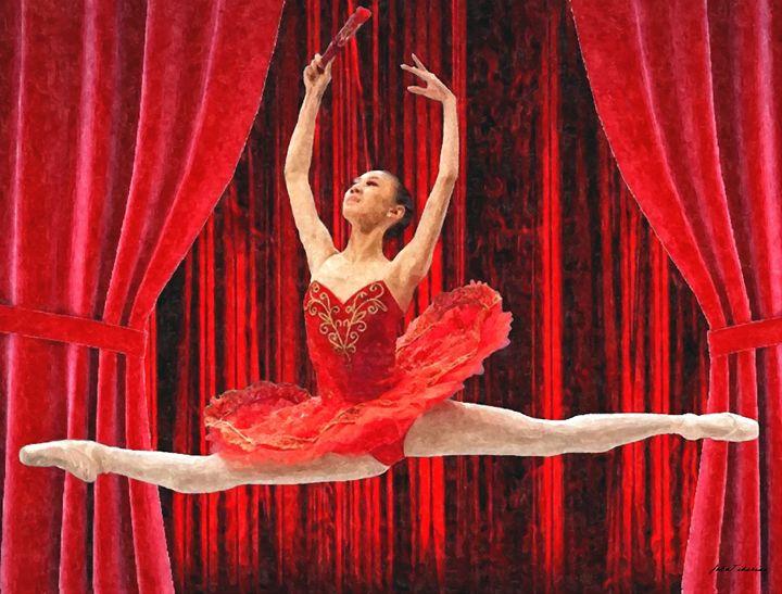 Chinaise ballerina - John Tiberius aka Johny Rebel