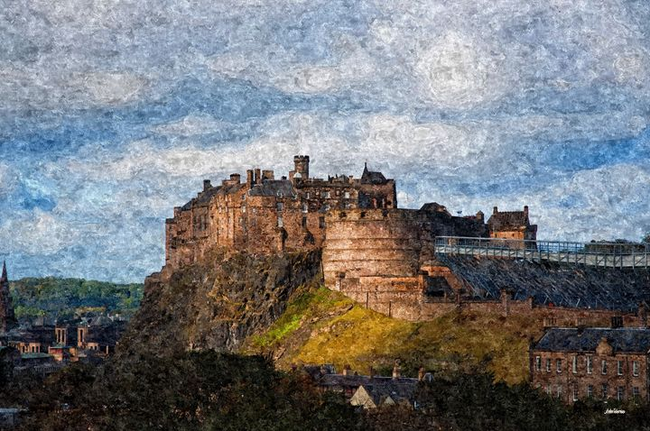 Edinburgh Castle - John Tiberius aka Johny Rebel