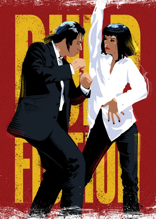 Pulp Fiction Dance - Nikita Abakumov