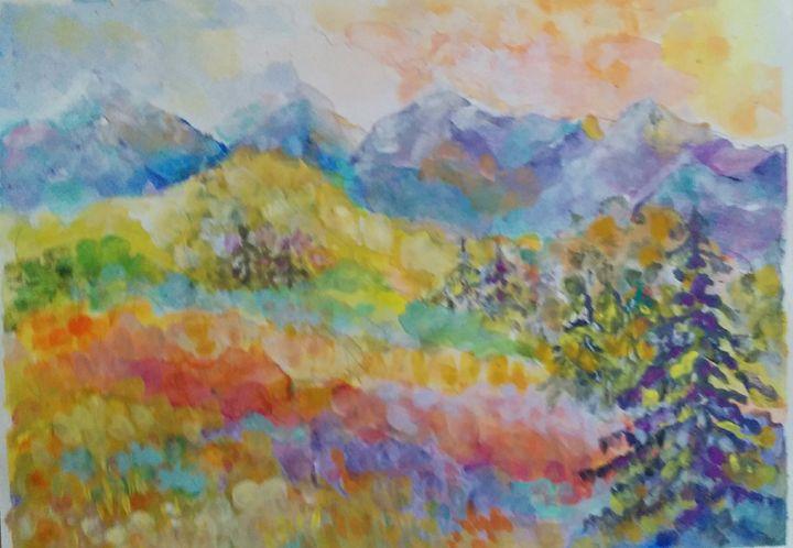Dreamy Meadow - Art By Judi