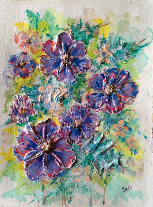 Asters - Art By Judi