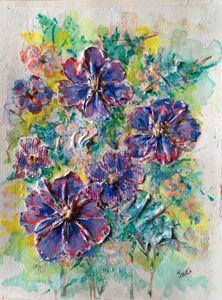 Asters - Art By Judi