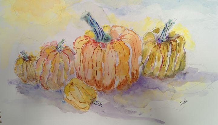 October Harvest - Art By Judi
