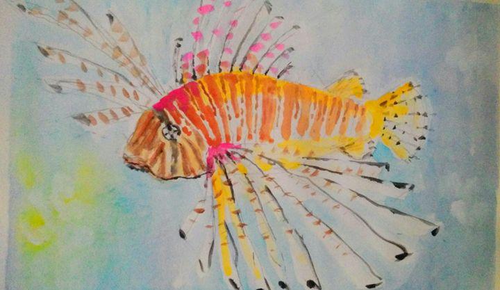 Lionfish - Art By Judi