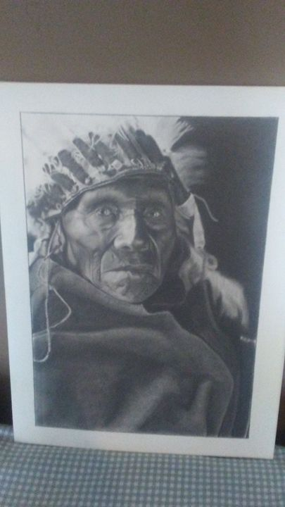 Old chief - Art by weldon