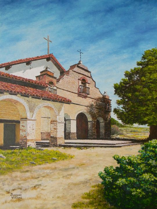 """Mission San Antonio"" - Duwayne Williams Fine Arts"