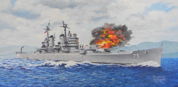 USS Helena - Duwayne Williams Fine Arts