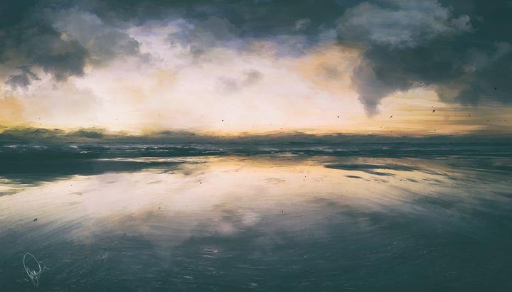 Golden Hour - Digital Art
