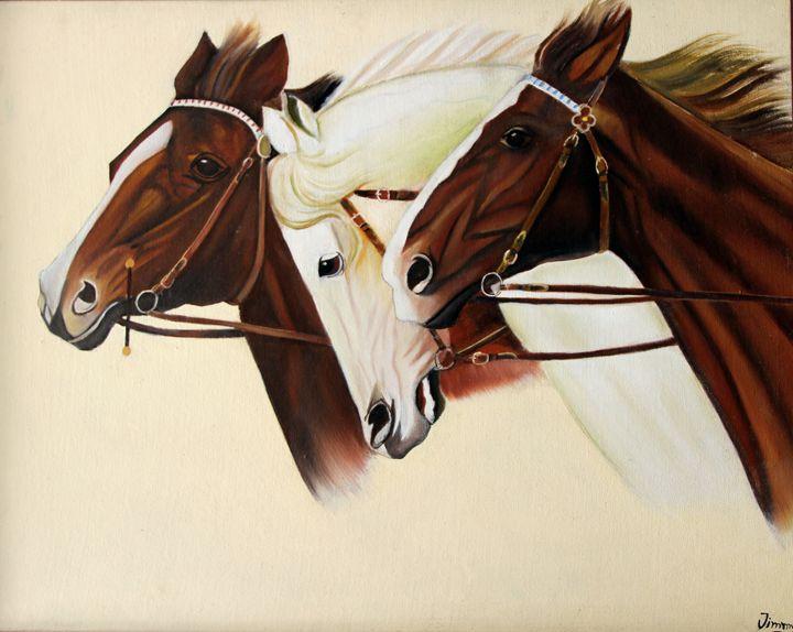 Three Horses-oreo - Jimmy's téchni