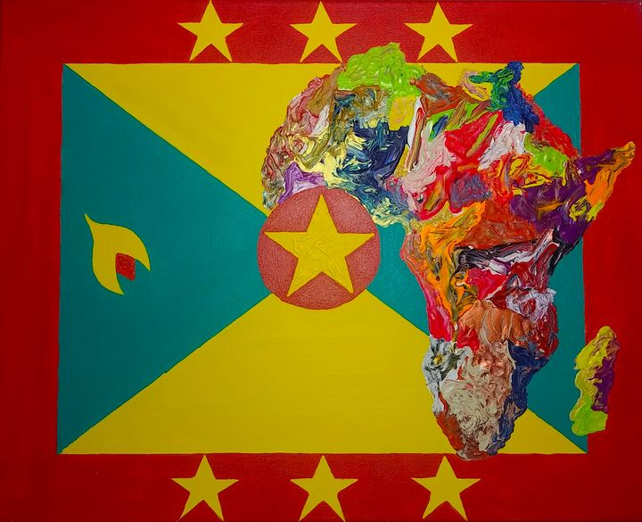 Grenada Culture Flag - Pass!ons !nk