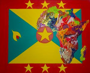Grenada Culture Flag