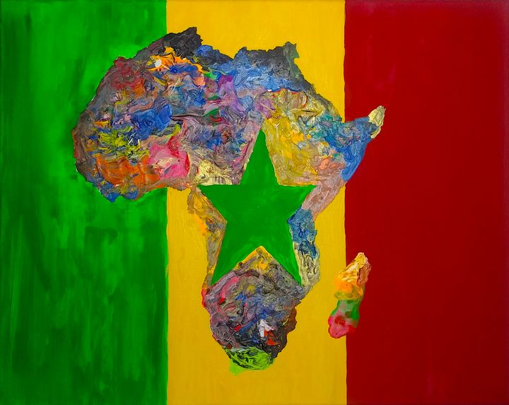 Senegal Culture Flag - Pass!ons !nk