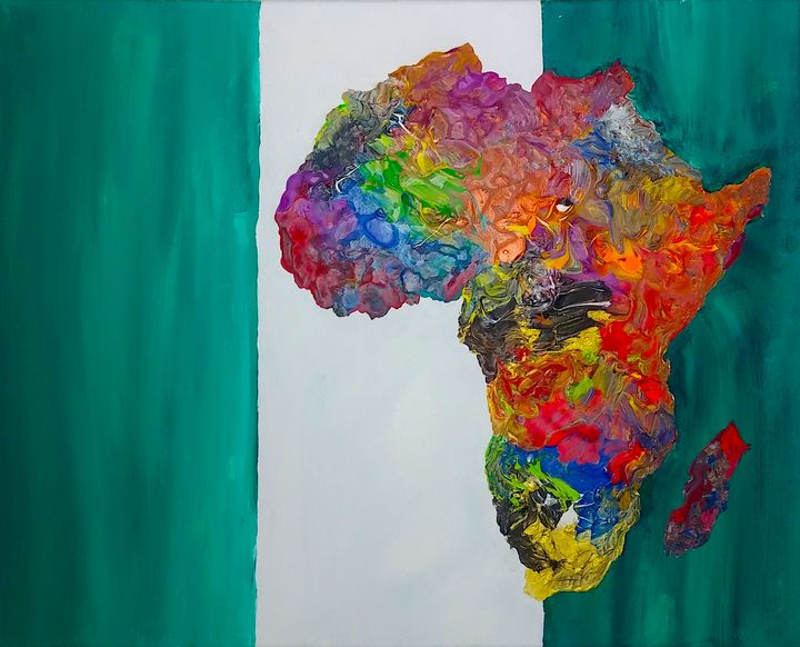 Nigeria Culture Painting - Pass!ons !nk