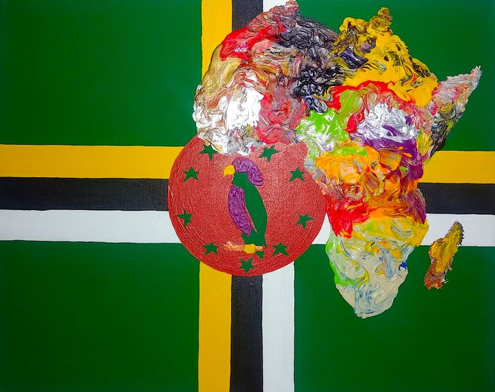 Dominica Culture Painting - Pass!ons !nk