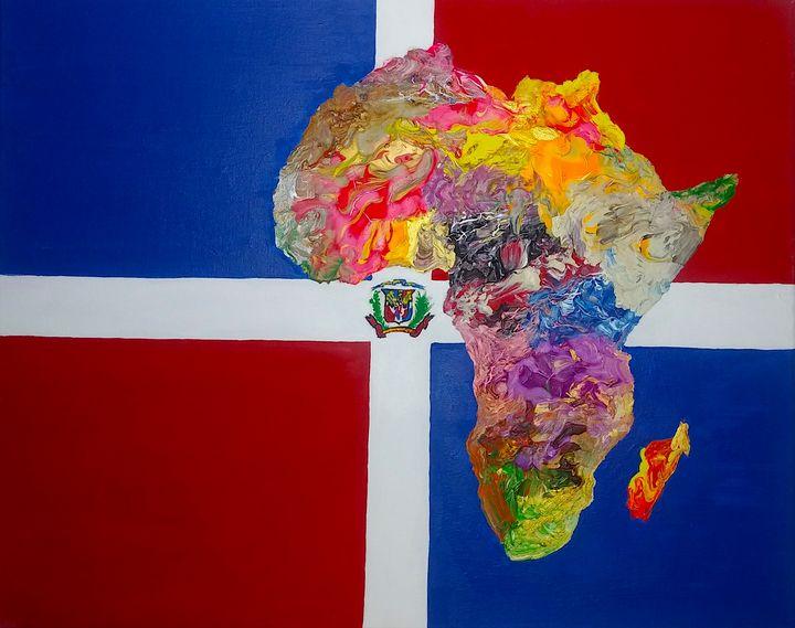 Dominican Republic Culture Flag - Pass!ons !nk