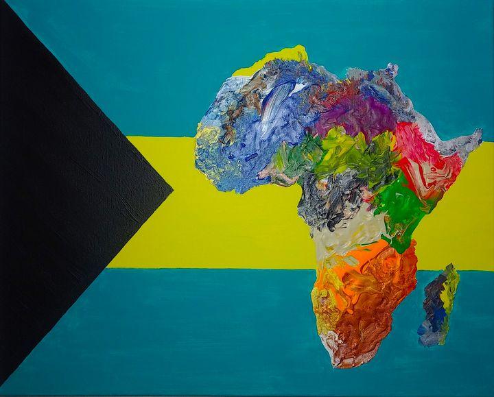 Bahamas Culture Painting - Pass!ons !nk