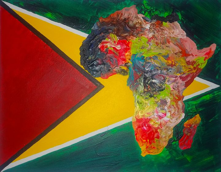 Guyana Culture Flag - Pass!ons !nk