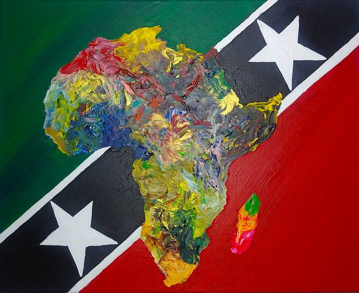 St.Kitts Culture Flag - Pass!ons !nk