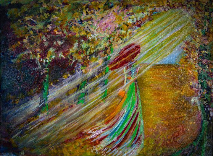 Autumn walk - Alina