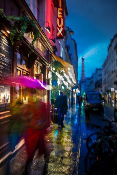 Paris at Rain - Oleg Sotnik