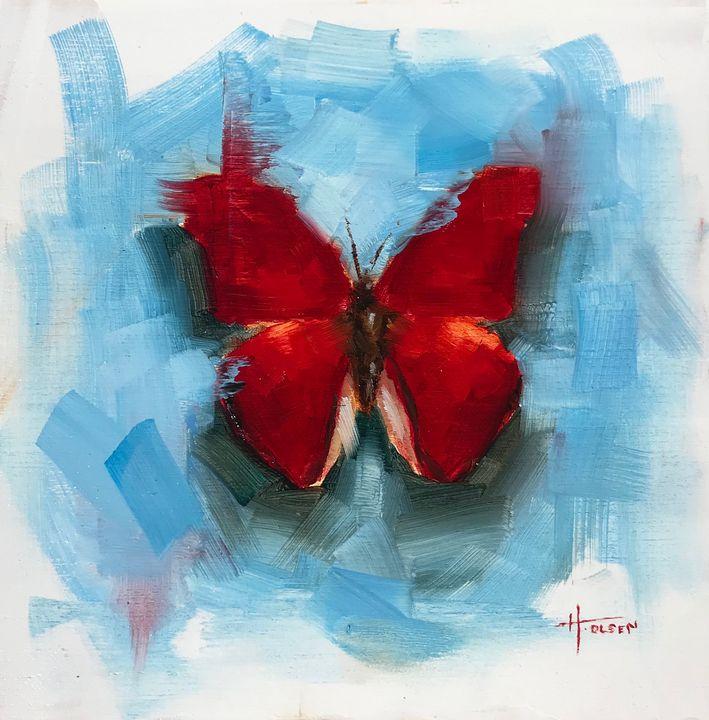 Butterfly No. 11 - Heather Olsen Art