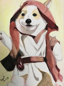May the dog be with you!