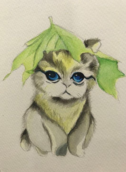 Cat cute cub! - Kant