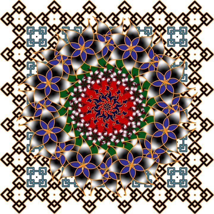 Pattern 122: Ornamental Geometry - UsmanArt