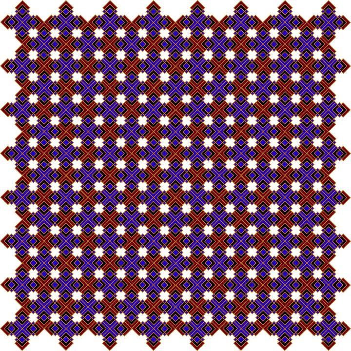 Pattern 082: Geometric Art - UsmanArt