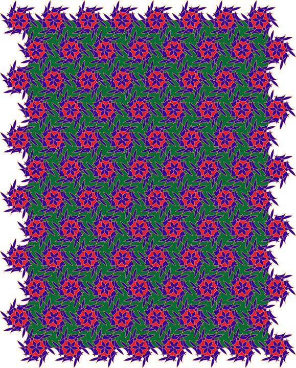 Pattern 086: Geometric Art - UsmanArt