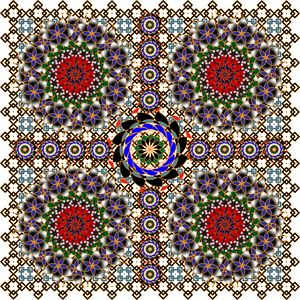 Pattern 123: Ornamental GeometricArt