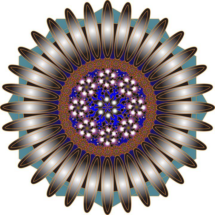 Mandala Pattern 121: Ornaments - UsmanArt