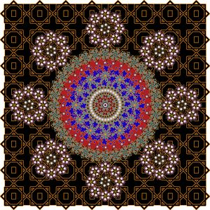 Pattern 126: GeometricArt