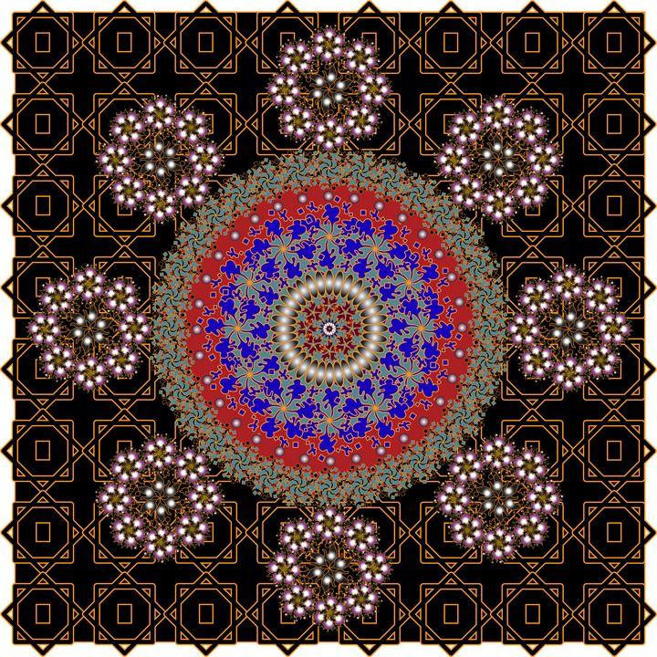 Pattern 126: GeometricArt - UsmanArt