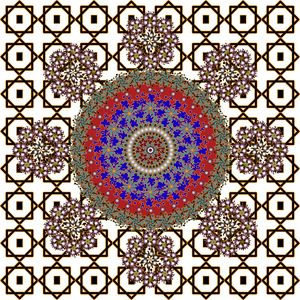 Mandala Pattern 125: Geometric Art