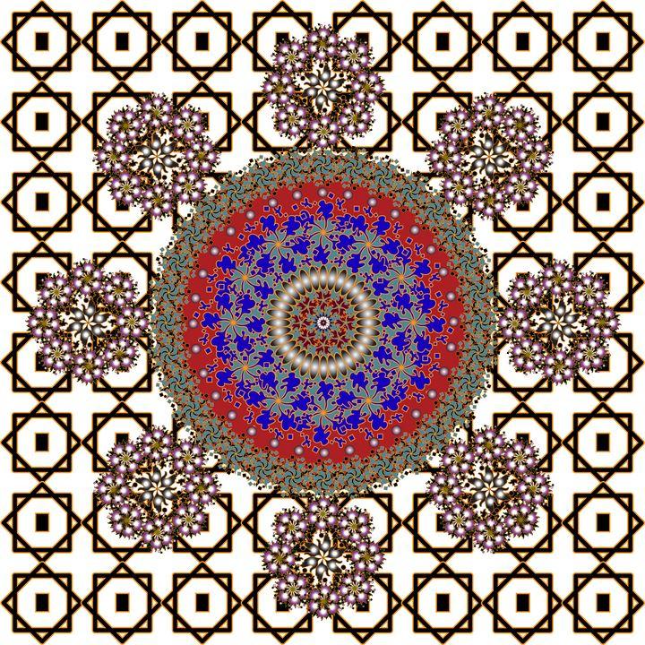Mandala Pattern 125: Geometric Art - UsmanArt