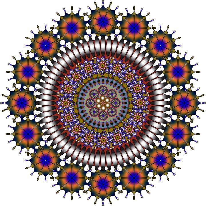 Pattern 131: Ornamental GeometricArt - UsmanArt