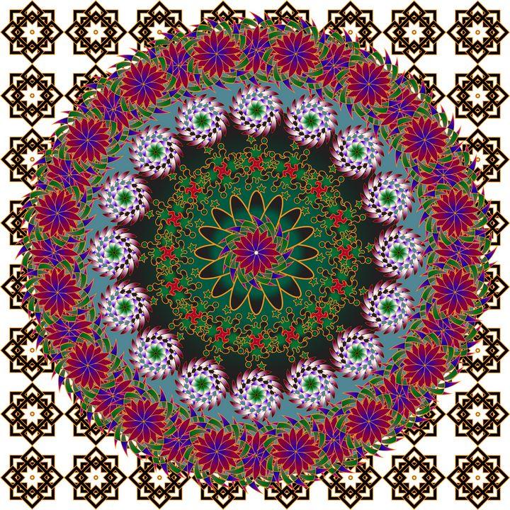Pattern 130: Ornamental GeometricArt - UsmanArt