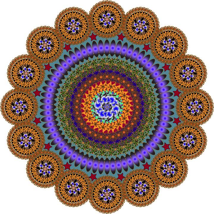 Pattern 129: Ornamental GeometricArt - UsmanArt