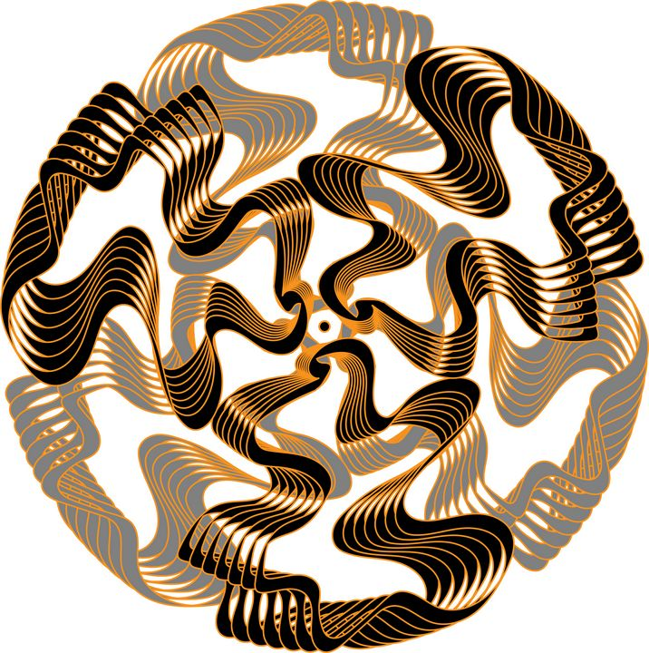 Artistic Disc or the Mandala - UsmanArt